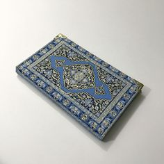 Notebook covered with Fabric / Ottoman pattern by HurremSultanJewelry on Etsy