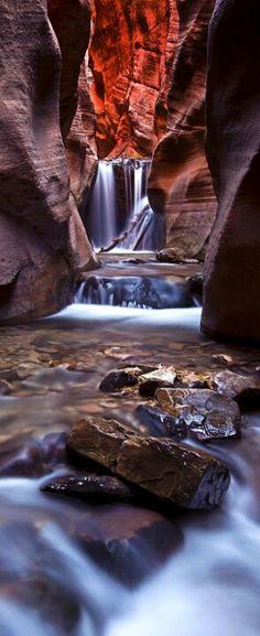 Upper Kanara Falls, Kanarraville, Utah