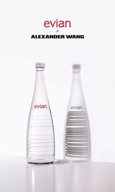 「エビアン」×「アレキサンダー・ワン」限定コラボボトルが発売!