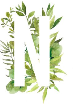 Screen Wallpaper, Wallpaper Quotes, Watercolor Lettering, Watercolour, Flower Letters, Wedding Scrapbook, Letter Art, Wedding Book, Initials
