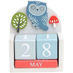 Forest Friends Owl Wooden Calendar Block by Gisela Graham Gisela Graham http://www.amazon.co.uk/dp/B00KX2BH70/ref=cm_sw_r_pi_dp_B91tvb0JG9K8M