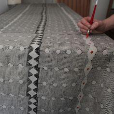 Hand-Block Printer Louisa Loakes   The New Craftsmen   Luxury Handmade Craft