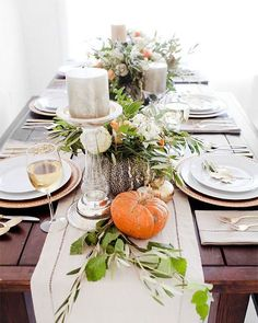 Happy Thanksgiving from Murchison-Hume! Bring on the feast, but remember to keep it clean & civilized. Image: @potterybarn
