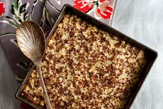 quinoa  and cauliflower kugel Eat Well - Recipes For Health - NYTimes.com
