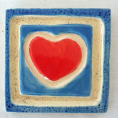 Heart Tile – Etched
