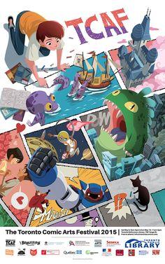 TCAF 2015 Poster (Gurihiru), The Beguiling Original Art Store