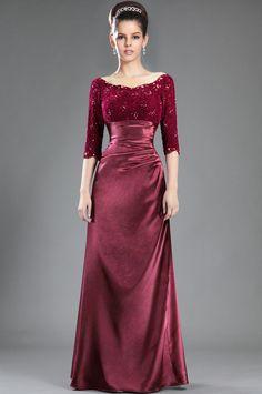 eDressit De Moda Mangas de Encaje Vestido de Madre de La Novia (Y26121817)