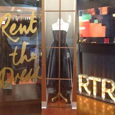 STACY IGEL: Midnight Inspirations: Rent the Runway at Henri Bendel