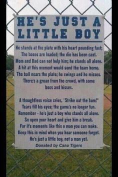 To all baseball dads