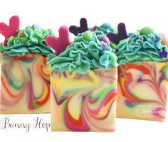 Bunny Hop Artisan Vegan Soap