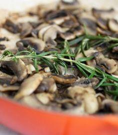 Sauteed Mushrooms with Rosemary and Garlic