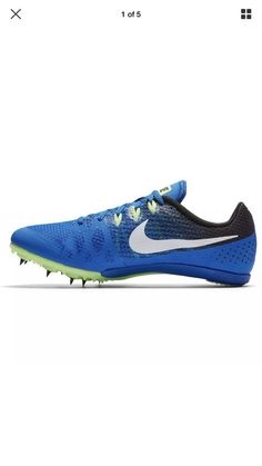 6605243693d3a Nike Zoom Rival M 8 Mens Track Sprint Spikes Shoes 806555 413 Size  11.5NOSPIKES