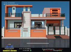 Modern Bungalow House Design, House Balcony Design, House Arch Design, House Main Gates Design, Single Floor House Design, Modern Exterior House Designs, Latest House Designs, Duplex House Design, Modern House Plans
