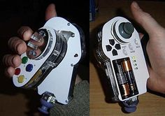 One-handed controller by Ben Heck  (Ben Heck, 2008)