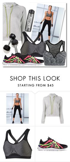 """""""JUST DO IT"""" by sara-488 ❤ liked on Polyvore featuring Victoria's Secret, Balenciaga, NIKE, Puma and New Balance"""