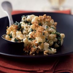 Smoked Gouda, Spinach, and Parmesan Mac and Cheese