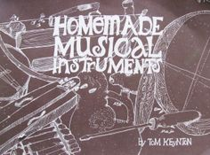 vintage 1970s book // Homemade Musical Instruments by MouseTrapVintage on Etsy, $42.00
