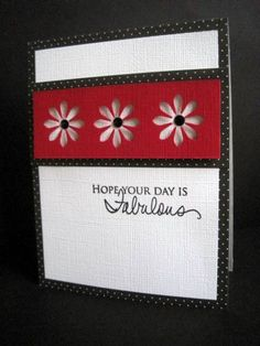 Red, White and Black by lisaadd - Cards and Paper Crafts at Splitcoaststampers