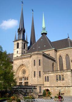 Catedral de Notre-Dame, en Ciudad de Luxemburgo