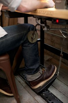 Selvedge denim and Red Wings.