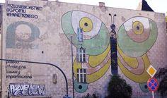 Mural PEWEX - ŁÓDŹ ul.Sienkiewicza Poland, Street Art, Symbols, Letters, Letter, Lettering, Glyphs, Calligraphy, Icons