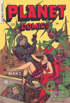 Digital Comic Museum Viewer: Planet Comics 069 (paper) - 0243 Planet Comics 69…