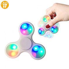 Fidget Spinner Finger Spinner Hand Spinner Finger Kreisel Lichteffekt - Fidget spinner (*Partner-Link)