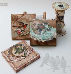 Vintage Inspired little gift boxes (created by Eingestellt von Viola E.)
