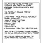 Take the standard animal report to the next level with this handy template! I found that having my kids make Animal Zines was a great way to get th...