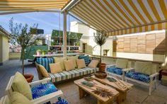 The Mint Roof: comida callejera en el cielo de Gran Vía