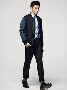 nice jacket...H Men's Fall 2012 Lookbook 9