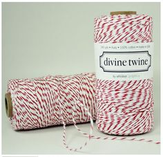 240 Yards Cherry Red Divine Twine by HeyYoYo on Etsy, $14.95