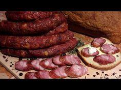Jak zrobić domową pieczoną kiełbasę z piekarnika - przepis na aromatyczną kiełbasę bez wędzenia - YouTube Sausage, Food And Drink, Meat, Youtube, Dinners, Hams, Home Made, Dinner Parties, Sausages