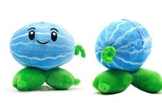 "Plants vs Zombies Plush Toys Winter Melon 18cm/7"" Small Size Generic http://www.amazon.com/dp/B00F875G3G/ref=cm_sw_r_pi_dp_8CWkvb17MMKGS"
