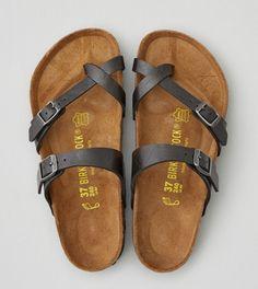 Black Birkenstock Mayari Sandals $89.99 A&E really like these.