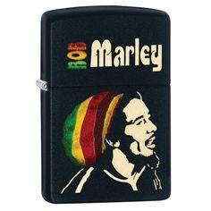 Zippo Bob Marley Matte Lighter
