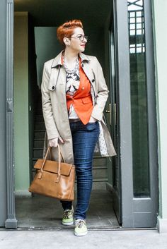 Casual chic outfit for a relaxing day #fashion #curvy #curves #plusSize #blogger #jeans