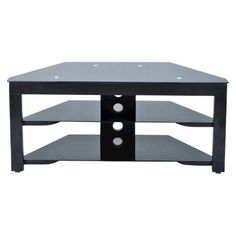 Target - Wood and Glass TV Stand $90