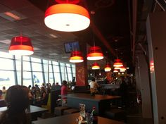 #LaBelle suspensions, design by Filippo Protasoni, at Brussels South Charleroi Airport  www.prandina.it