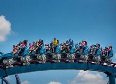 O SeaWorld inaugura em Orlando a montanha russa mais longa, alta e rápida do mundo, MAKO.