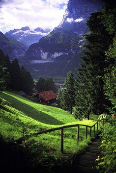 From Past To Present — Grindelwald, Switzerland Graham McKenzie