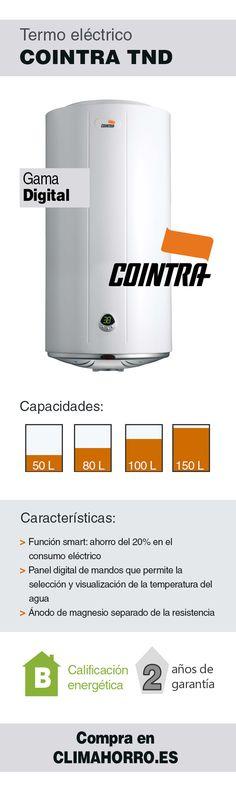 Termo eléctrico Cointra gama Digital TND