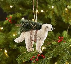 Shop bottlebrush labrador retriever ornament from Pottery Barn. Our furniture, home decor and accessories collections feature bottlebrush labrador retriever ornament in quality materials and classic styles. Dog Christmas Ornaments, Christmas Dog, Christmas Crafts, Christmas 2016, Ball Ornaments, Christmas Wishes, Merry Christmas, Pottery Barn Christmas, Polar Bear Christmas