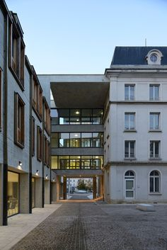 Congress centre in Troyes, Troyes, 2009 - Linazasoro & Sanchez Arquitectura, THIENOT BALLAN ZULAICA architectes