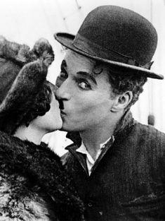 Georgia Hale & Charlie Chaplin- The Gold Rush, 1925