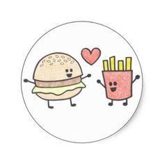 cute+fast+food+cartoons | fast junk food perfect junk food shirts posters and funny by cartoon ...