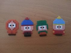 South Park hama beads by Factory Beads