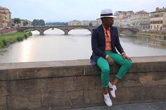 Colour Blocking In Florence 🇮🇹 Summer Seventeen Many Men, Gabriel, Seventeen, Panama Hat, 21st, Florence, Instagram Posts, Summer, Colour