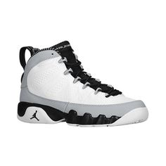 Jordan Retro 9 Boys' Grade School ($108) ❤ liked on Polyvore featuring shoes, jordans and sneakers