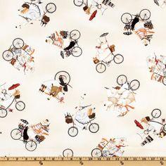 Jennifer Garant Fat Chefs on Bicycles  @fabric.com